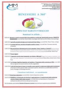 open day 9 maggio 2015